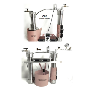 MedXtractor 2and5oz CO2 extractor for cannabis oil