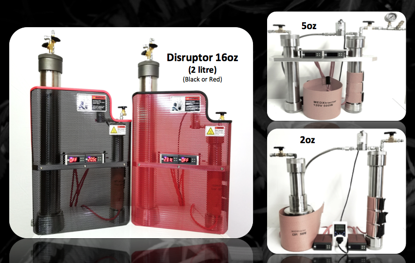 MedXtractor - Small-scale CO2 cannabis oil extractors